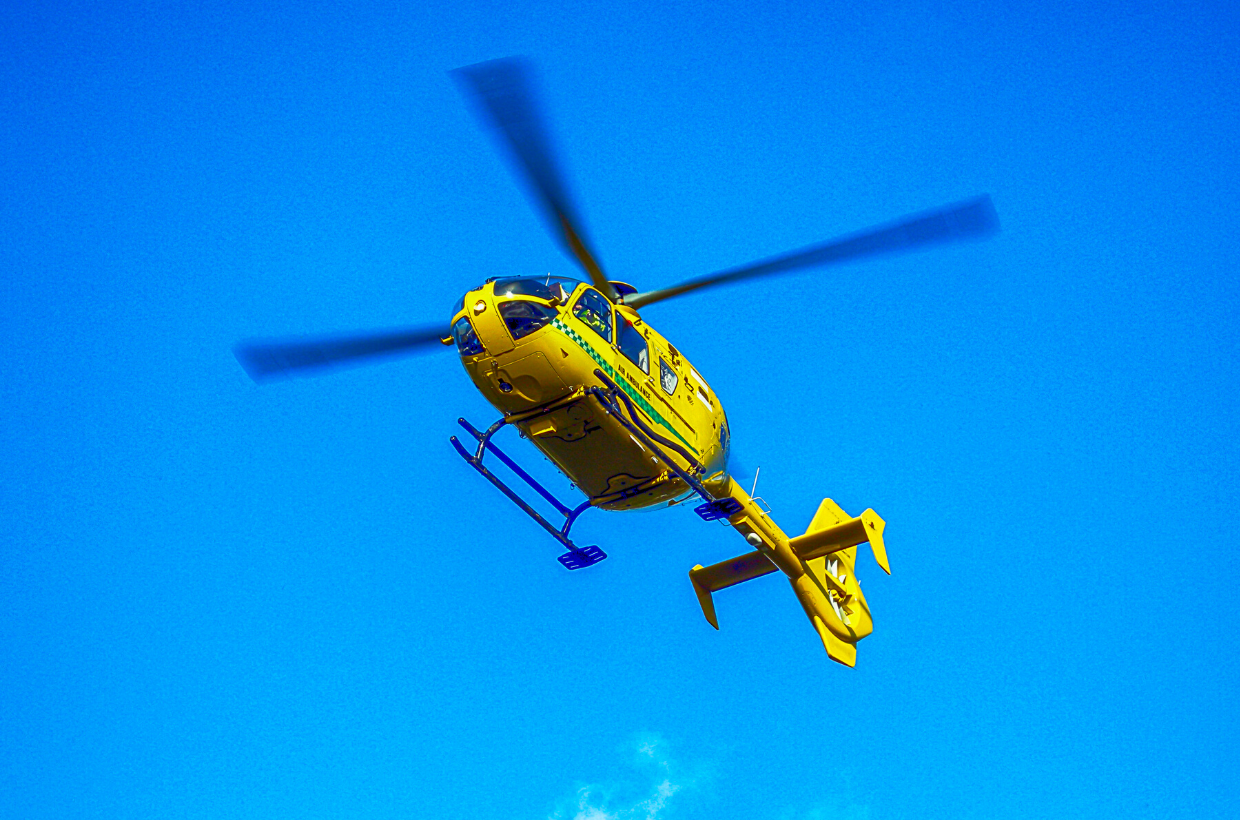 Wiltshire Air Ambulance Comes to The Ridgeway
